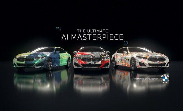 """BMW combină arta şi inteligenţa artificială pentru a crea """"The Ultimate AI Masterpiece"""""""