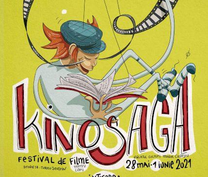Festivalul de filme pentru copii KINOSAGA între 28 mai și 1 iunie 2021 la Drobeta-Turnu Severin