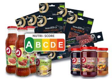 Auchan, primul retailer care introduce eticheta Nutri-Score pe produsele românești marcă proprie