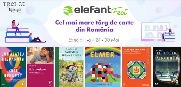 banner Grupul Editorial Trei la ElefantFest 2021