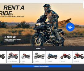 România, prima ţară din regiune integrată în platforma internaţională BMW Motorrad Rent a Ride