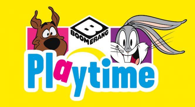 Intrați în lumea desenelor animate preferate cu Boomerang Playtime