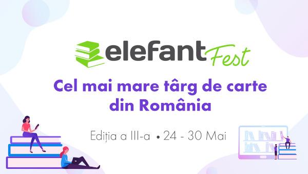 elefantFest: Ultimele două zile ale celui mai mare târg de carte online sunt dedicate copiilor