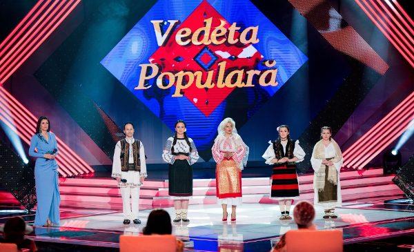 """Vedete ale folclorului românesc în duel la """"Vedeta populară"""""""