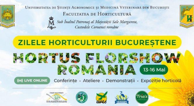 Zilele Horticulturii Bucureștene și Hortus FlorShow România – tot ce vreți să știți despre flori, plante și grădină