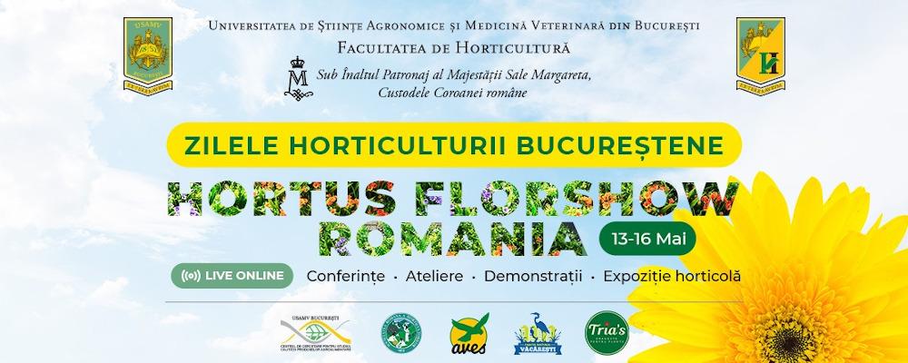promo Zilele horticulturii bucurestene 2021