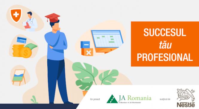 Nestlé România și Junior Achievement organizează webinarii de orientare profesională în mai multe licee din țară
