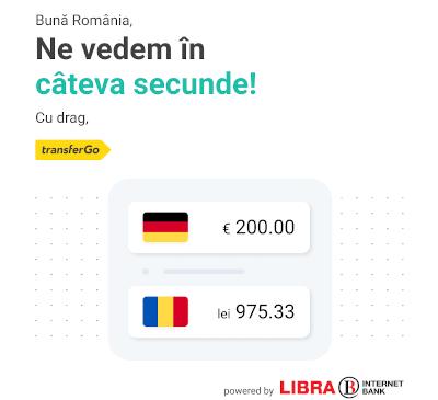 TransferGo a încheiat un parteneriat cu Libra Internet Bank pentru a oferi clienților săi transferuri instant către băncile înrolate în sistemul de Plăți Instant din România