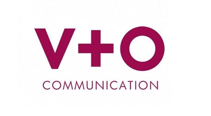 V+O Communication logo