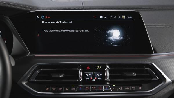 BMW Operating System 7 - Amazon Alexa