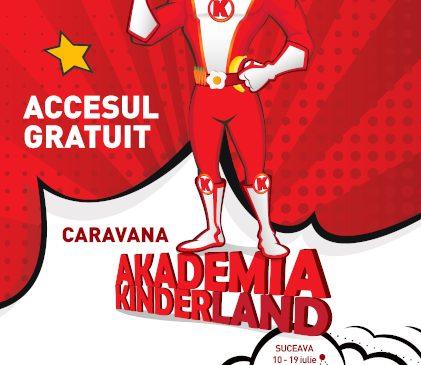 Începe Caravana Akademia Kinderland ediția 2021: Școala mobilă de alimentație sănătoasă ajunge în Moldova