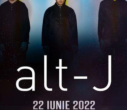 Concert alt-J la Bucuresti in 2022