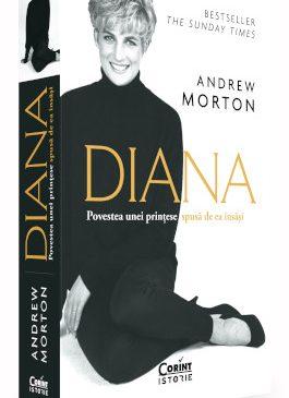 """Editura Corint lansează volumul """"Diana. Povestea unei prințese spusă de ea însăși"""""""