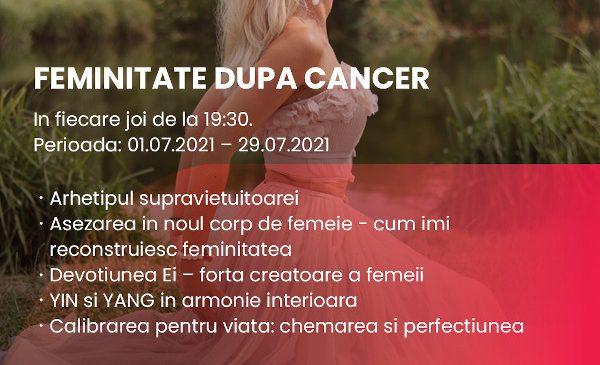 """Asociația IMUNIS anunță a doua ediție a programului """"Feminitate după cancer"""""""