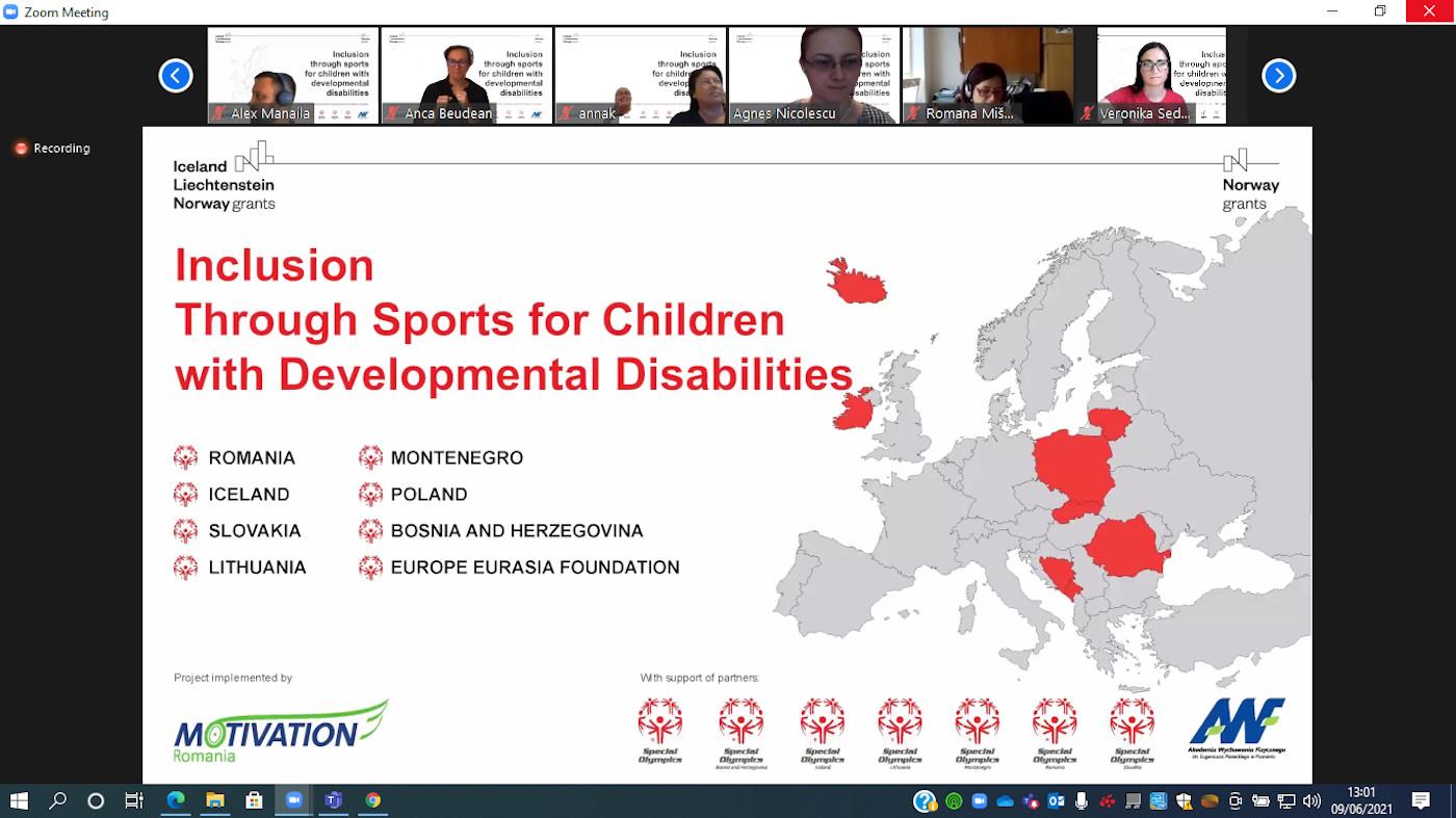 Incluziune prin sport pentru copiii cu dizabilitati intelectuale 1