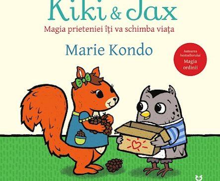 """""""Kiki și Jax"""" – prima carte pentru copii scrisă de Marie Kondo"""