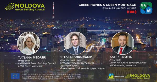 Programul Green Homes se lansează oficial în Republica Moldova