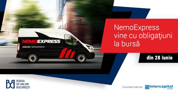 Compania de curierat Nemo Expres Logistic vine la bursă cu obligațiuni de 1,57 milioane euro