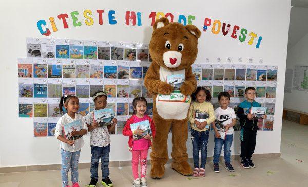Cu ocazia Zilei Copilului, Asociația OvidiuRo și Catena oferă 120.000 de cărți preșcolarilor din medii defavorizate și tuturor educatorilor din România