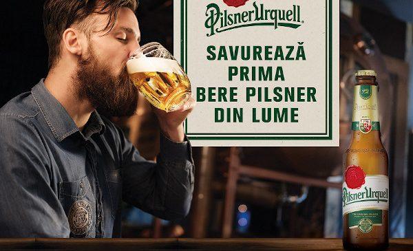 Pilsner Urquell, prima bere tip pilsner din lume – același gust, acum într-un nou ambalaj