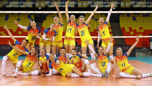 Naționala României, locul 2 în turneul Golden League de la Cluj-Napoca