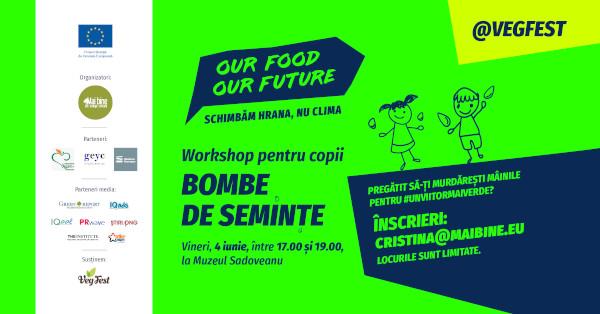 Mai Bine te invită la VegFest, la Iași, festivalul hranei sănătoase