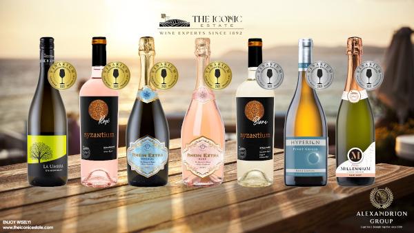 Vinurile The Iconic Estate, din portofoliul Alexandrion Group, premiate cu medalii de aur şi argint la IWCB Vinarium 2021