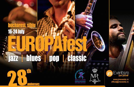 EUROPAfest 28 – jazz & clasic. În iulie concerte cu artiști din 20 de țări