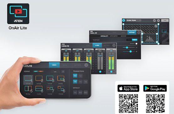 Cu ATEN OnAir Lite puternicele dispozitive ATEN UC3022 sunt deosebit de ușor de folosit