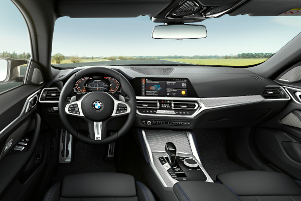 """The all-new BMW M440i xDrive Gran Coupé, Aventurine Red (Individual), Rim 19"""" Styling 861M"""