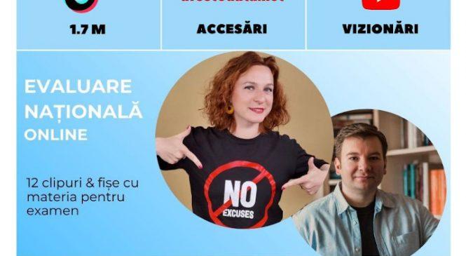 Evaluare națională online – primul proiect din România care a transformat TikTok-ul în noul aliat al elevilor în pregărirea pentru examene