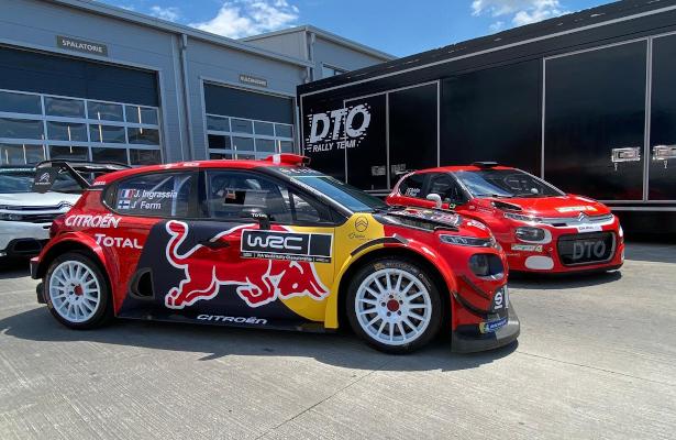 Citroën C3 WRC Raliul Argeșului