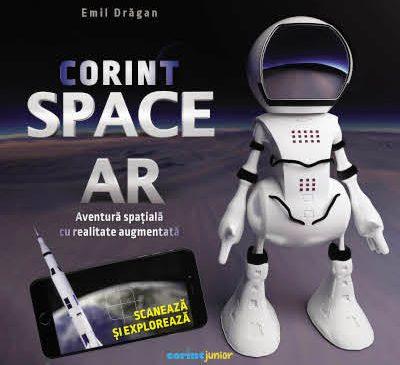 CorintSpaceAR, cartea interactivă care îi poartă pe copii în cosmos prin jocuri cu realitate augumentată