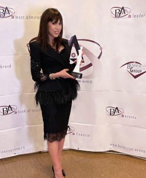 "Denise Rifai a primit distincția ""Television personality of the year"""