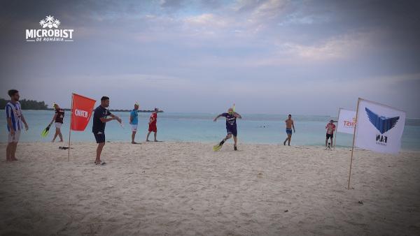 """""""Water-football"""" și biathlon de plajă, la """"Microbist de România"""""""