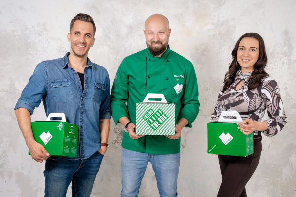 Echipa FrissBox si Chef Alex Cirtu