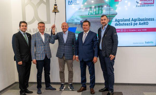Agroland Agribusiness, a doua companie din grupul Agroland care se listează pe piața AeRO