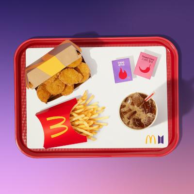 McDonald's BTS Meal Romania