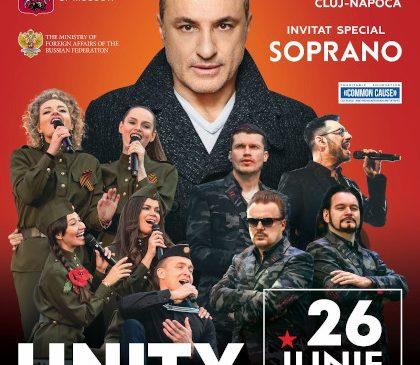Turetsky Choir și Soprano concertează sâmbătă, 26 iunie, în Piața Unirii din Cluj-Napoca