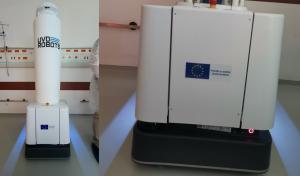 Roboți de dezinfecție pentru o serie de spitale din România, din partea Comisiei Europene