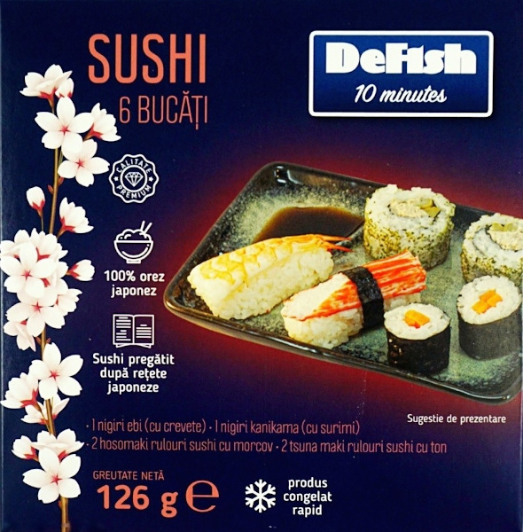 sushi DeFish