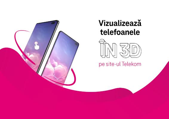 telefoane in 3d pe telekom.ro