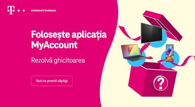 Ghicitoarea verii vine de la Telekom Romania, iar abonații o pot găsi în aplicația mobilă MyAccount