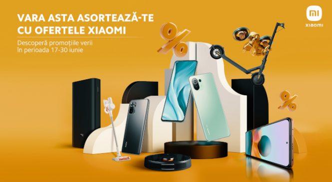 Xiaomi dă startul campaniei reducerilor de vară în România
