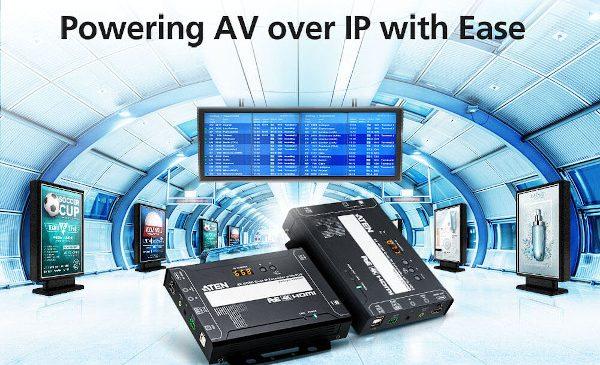 Soluțiile ATEN VE8950 simplifică și eficientizează distribuția de conținut audio/video către publicul țintă