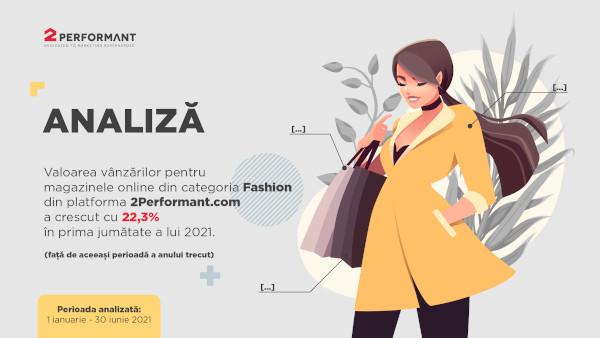 Analiză e-commerce 2Performant: în prima jumătate a anului, românii au început să cumpere iar haine de stradă și birou și au cheltuit online cu 22,3% mai mult decât anul trecut pe produse de fashion