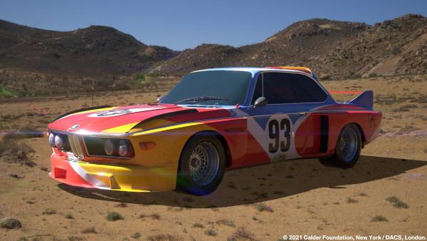 BMW Art Cars iau formă digitală