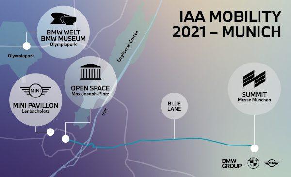 BMW Group la IAA MOBILITY 2021: dialog despre mobilitatea durabilă a viitorului – direct la München şi digital în întreaga lume