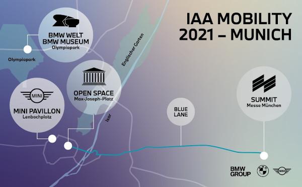 BMW Group @ IAA Mobility 2021 Munich