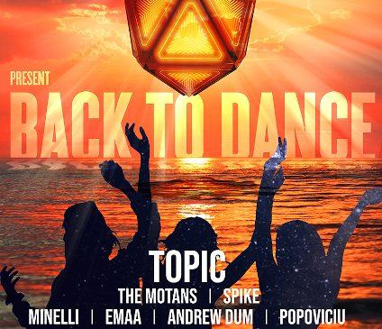 SAGA Festival și Radio ZU prezintă Back to Dance, pe 30 iulie, la Form Beach Mamaia